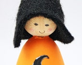 Halloween Cornish Pixie Elf Witches Hat