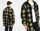 Vintage Oversized Plush Fleece Jacket