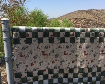 Sale Quilt ready to be finished, free shipping, quilt unfinished, Quilt top, quilt handmade, quilt patchwork, quilt country
