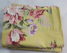 Pr Ralph Lauren standard Pillow cases Sophie Brooke  Yellow w Roses