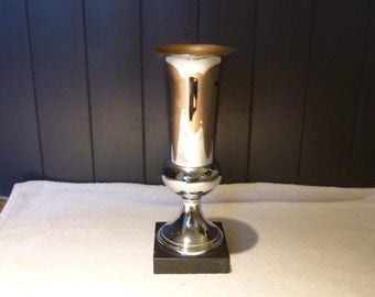 Vintage French Trophy Award Cup Shabby Chic Style Vintage Treasure Perfect for Display