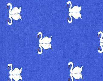 Sommer Swan (Blueberry) - Sommer - Sarah Jane - Michael Miller Fabrics - 1 Yard