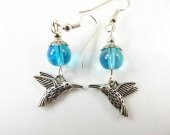 Clearance - Mini hummingbird earrings