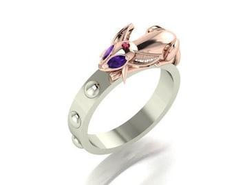 Pokemon Espeon inspired ring