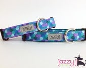 Mermaid Hexagon Dog Collar