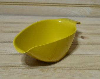 Vintage Allied Chemical Gravy Boat Scoop Hard Plastic Harvest Gold