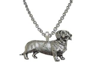 Dachshund Wiener Dog Pendant Necklace