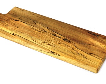 """Wooden Baguette Board - Ambrosia Maple  - Ready to Ship - 20""""x6-1/2""""x1"""""""