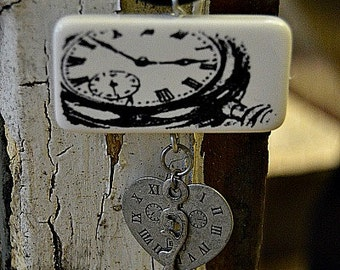Waiting for Love, Domino Pendant Necklace