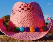 Pink Plumeria Cowgirl