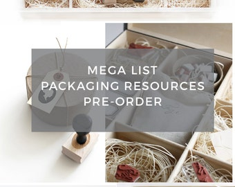 Packaging Resources List-Pre-Order