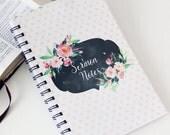 Sermon Notebook, Watercolor Dots notebook