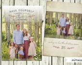 Maneri Custom Card Design and Printing (Quantity 50)