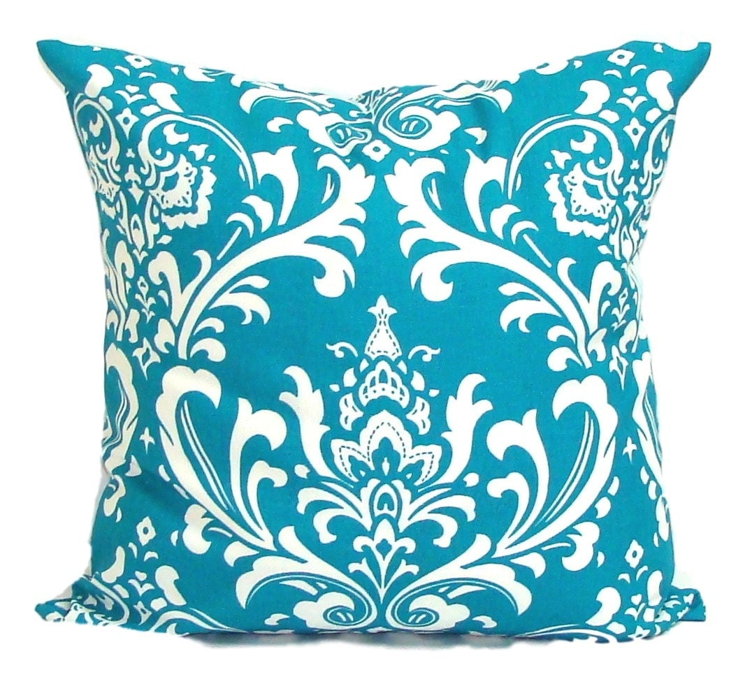 Dimensions Of Throw Pillow : Turquoise Pillows.ALL SIZES.Decorative Pillow Cover.Home