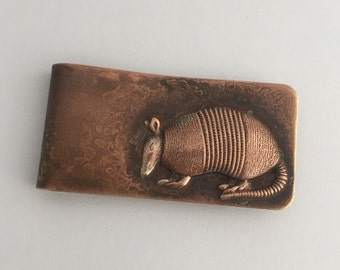 Armadillo Money Clip