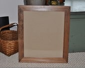 11 x 13 Maple Stained Frame