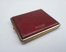 Vintage Cigarette Case by Goldpfeil Sport Edition, West Germany Vintage Case, Cigarette Box