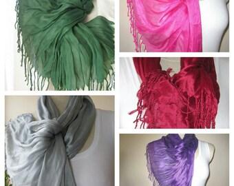 Turkey emerald green Scarf,burgundy hot pink gray purple solid viscose scarf/women's Turkish fashion scarves2012 christmas gift 10 dollar