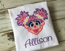 Abby Cadabby shirt, fairy shirt, girls birthday shirt, Abby Cadabby onesie, girls monster shirt