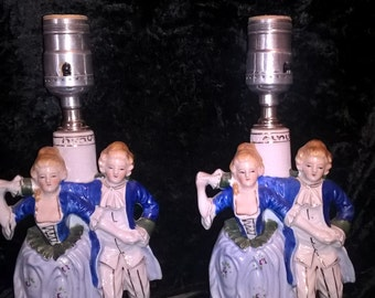 Lamps, Victorian Couple