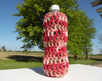 Crochet Bottle Cover / Water Bottle Cover / Water bottle holder / Water Bottle Cozy