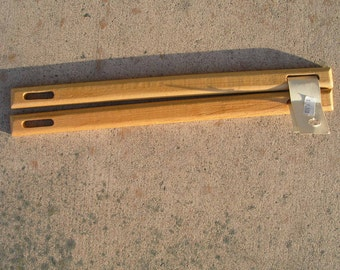 Vintage Pair Wooden Purse handle