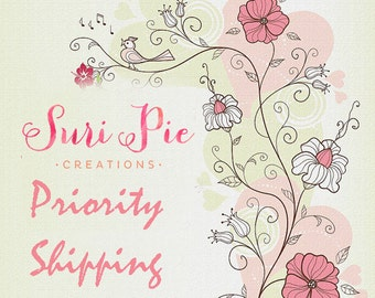 Priority Shipping- 2-3 business days delivery