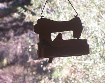 Sewing Machine Bird Feeder