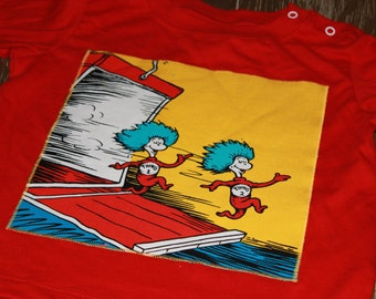 Cat in the Hat, Thing 1 and Thing 2 Shirt - READY to SHIP