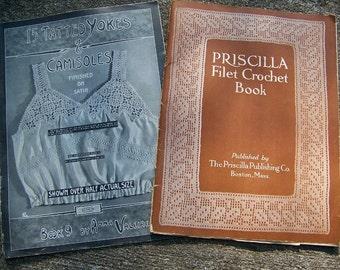 Antique Tatting & Crochet Pattern Booklets
