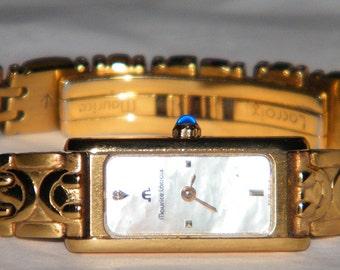 Ladies Maurice Lacroix Swiss 18K Yellow Gold Diamond Quartz Watch