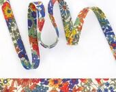 1 yard - Liberty of London Tana Lawn fabric,  bias tape - Print: Margret Annie A