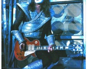 KISS Ace Frehley Live 24 x 34.78 Alive II Era Reproduction Poster (No Logo) - Kiss Band Kiss Collectibles Gift Idea Poster Retro kiss76