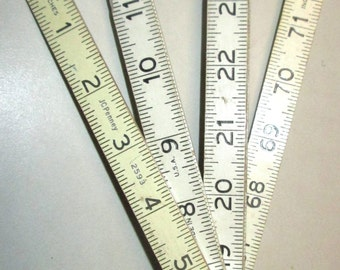 Vintage Engineers Folding Ruler, JC Penny 2593