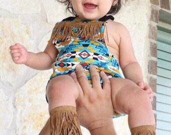 Suede Fringe Barefoot Gladiator Sandal Barefoot Sandal Baby Infant Toddler Elastic Sandal