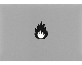 FIRE MacBook Sticker Decal