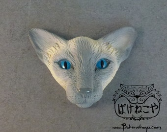 Oriental cat face Magnet – Lilac point