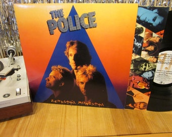 The Police - Zenyatta Mondatta - New Wave - w/ Inner Sleeve - 1980 - Sting - Don't Stand So Close To Me