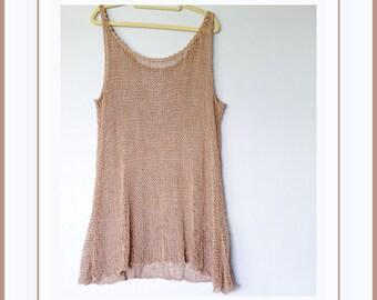 Knitted Beach Dress, Bikini Cover Up Dress