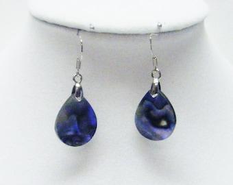 Paua Shell Raindrop Earrings