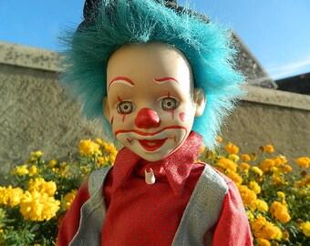 Musical clown automaton