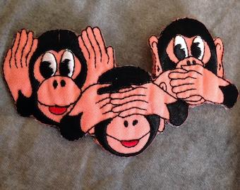 Monkey Trio Patch