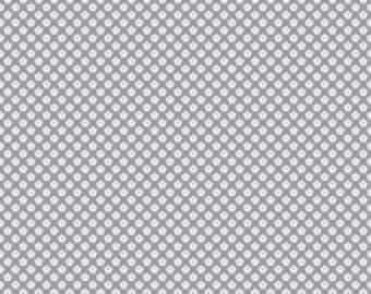 Dot Dash Petals Gray by DoodleBug Designs for Riley Blake Designs