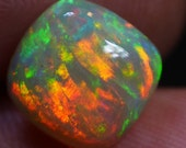 WATCH VIDEO 2.8cts Ethiopian Welo Opal Super Bright Patchwork Free Form Cut High Polish With Free Shipping Free Gift & 10% Off At Checkout