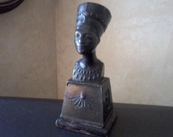 Bronze Nefertiti Paperweight