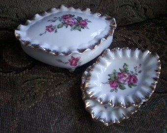 Shabby Chic Vanity Set