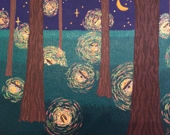 Fireflies in Summer