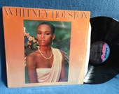 "Vintage, Whitney Houston - ""S/T Debut"", Vinyl LP, Record Album, Original 1985 Press, Thinking About You, Greatest Love Of All, Pop Soul R&B"