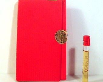 Vintage 1990s Touch by Fred Hayman Sample Vial on Card PERFUME