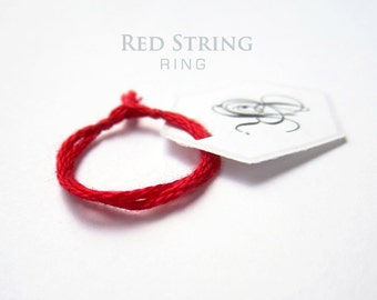 red string ring red string of fate mens red ring womens evil eye kabbalah hamsa hand red string ring